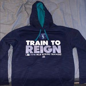 Majestic Seattle Mariners Spring Training Hoodie